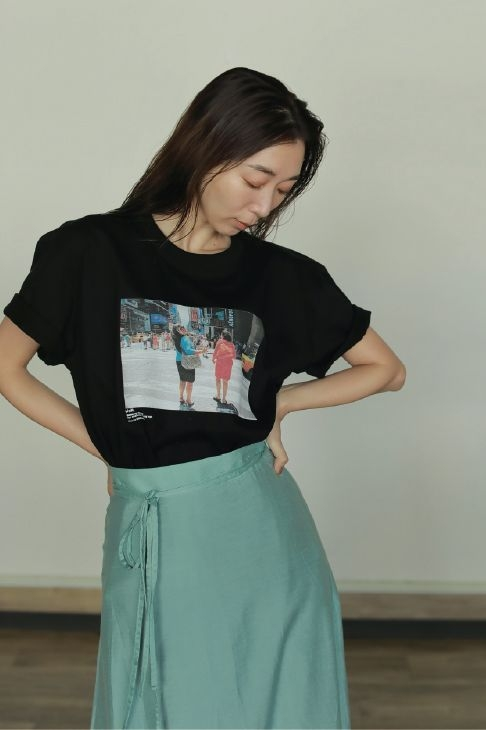 WOM CRAZY FOR SNAZZY ANY AGE TEE