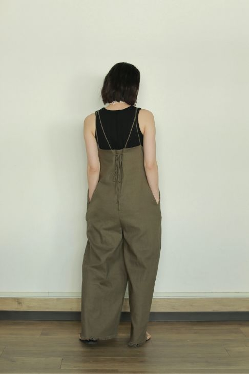 STRAP LINEN ALL IN ONE