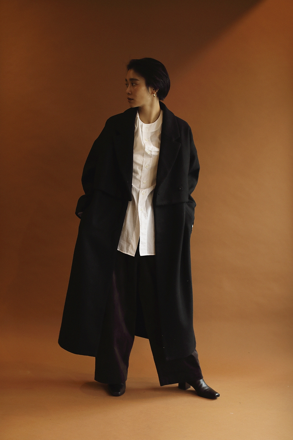 3way layered coat