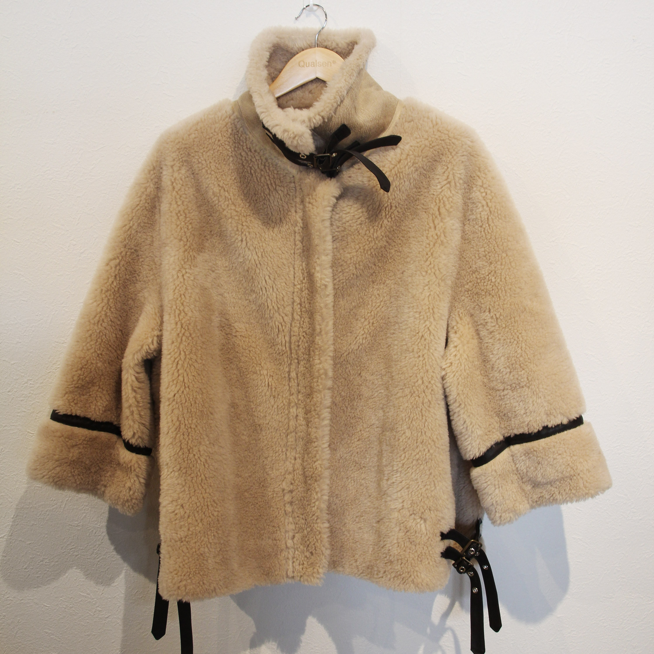 fake mouton jacket