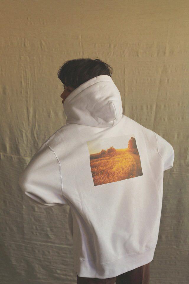 remake photo print hoodie