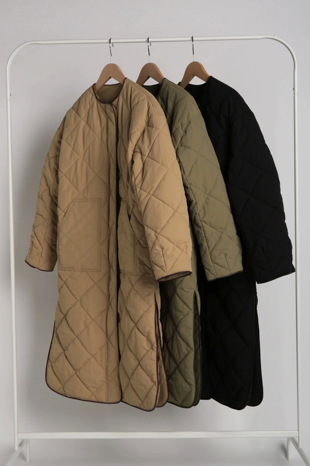 reversible quilting coat