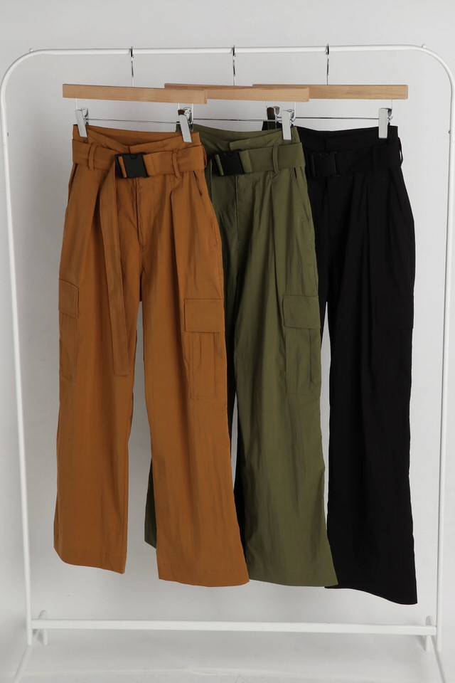 nylon wrinkle work pants